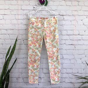 Elle Floral Skinny Jeans